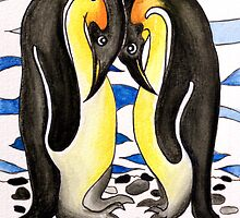 I Choose You ~ you are my penguin. by Lisa Frances Judd ~ QuirkyHappyArt