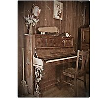 Play me a song... Photographic Print