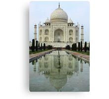Taj Mahal - Agra, India Canvas Print