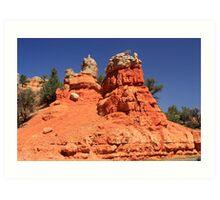 Canyon Sculptures Art Print
