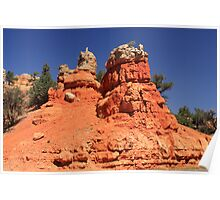 Canyon Sculptures Poster