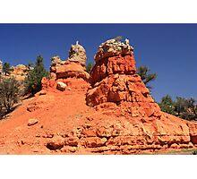 Canyon Sculptures Photographic Print