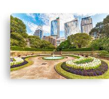 Sydney City from Botanic Garden Canvas Print