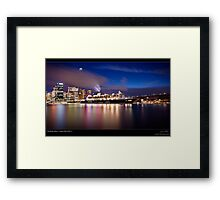 The Queen Mary ll Framed Print