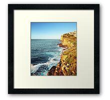 The Sea Cliffs 2 Framed Print