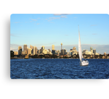 Sunday in Sydney Canvas Print