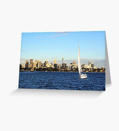 Sunday in Sydney Greeting Card
