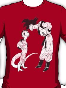Goku & Frieza scratch T-Shirt