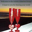 Artistic Libation Banner Challenge Entry by Adrena87