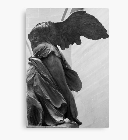 Winged Nike Canvas Print