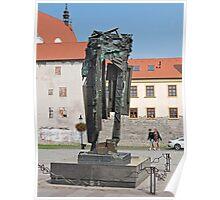 Holocaust Memorial, Bratislava, Slovakia Poster