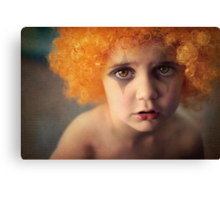 Don't worry... things will look better tomorrow. Canvas Print
