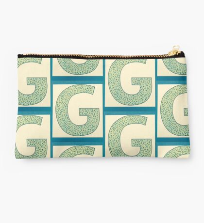 Letters of the alphabet  G Studio Pouch