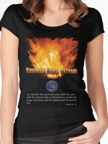 Blackness meets Holiness 2 Women's Fitted Scoop T-Shirt