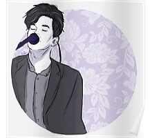 Dallon Weekes art print Poster