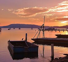 Sunrise at Brisbane Waters  by Ryan Conyers
