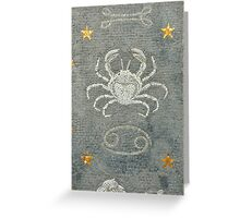 Cancer - Astrology Greeting Card