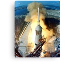 Saturn V Launch of Apollo 11 Moon Mission Canvas Print