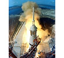 Saturn V Launch of Apollo 11 Moon Mission Photographic Print