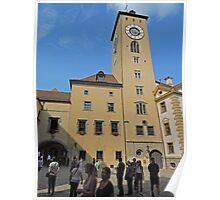 Old City Hall, Regensburg, Germany Poster