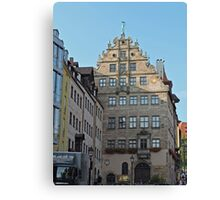 Stadt museum, Fembo haus, Nuremberg, Germany Canvas Print