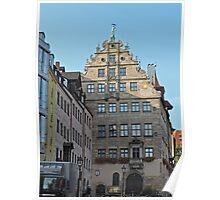 Stadt museum, Fembo haus, Nuremberg, Germany Poster