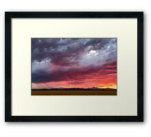You Color My Dreams Framed Print