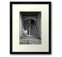 Elegant Walkway Framed Print