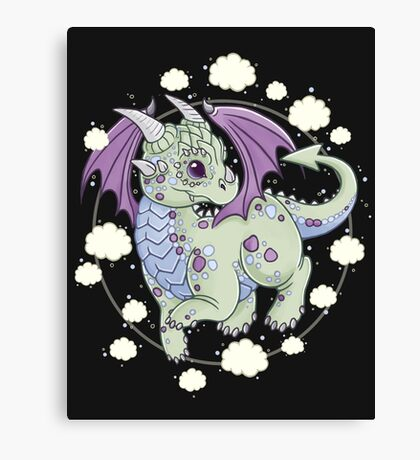 Dragon in the Clouds Canvas Print