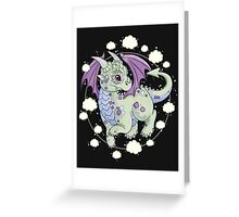Dragon in the Clouds Greeting Card