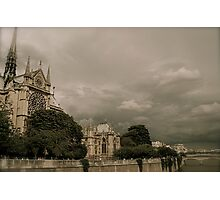 Notre Dame Cathedral Photographic Print