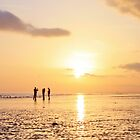 Low Tide Sunset - Hove #21 by Matthew Floyd