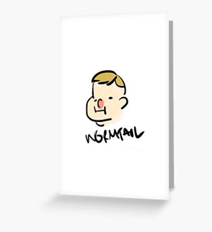 marauder wormtail Greeting Card