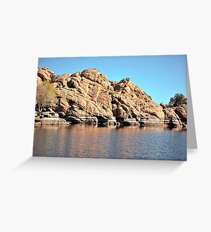 Linx Lake Prescott Arizona Greeting Card