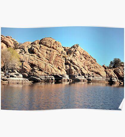 Linx Lake Prescott Arizona Poster