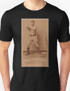 Benjamin K Edwards Collection Wally Andrews Omaha Team baseball card portrait Unisex T-Shirt