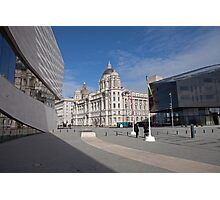 Outside The Liverpool Museum Photographic Print