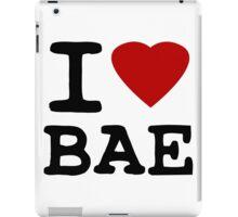 I Heart (LOVE) Bae iPad Case/Skin