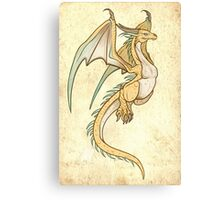 Wyvern Time Canvas Print