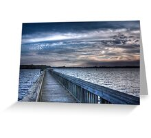 A Walk to Serenity! Greeting Card