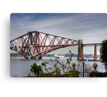 Liner under the Bridge Canvas Print