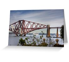 Liner under the Bridge Greeting Card