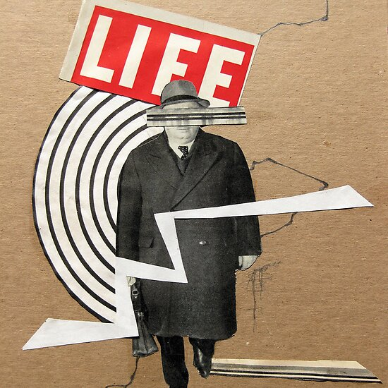 Collage Art: Life by Susan Ringler