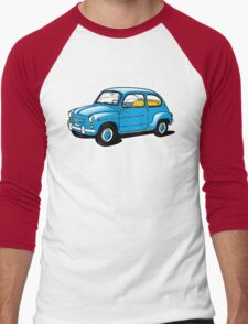 fiat 600 Men's Baseball ¾ T-Shirt