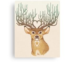 Your Love Is Deer To Me Canvas Print