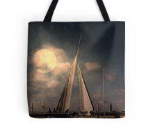 Moonlit Sails Tote Bag