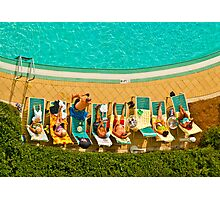 POOLSIDE Photographic Print