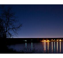 Cherry Creek at Night Photographic Print