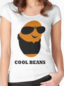 Cool Beans Women's Fitted Scoop T-Shirt