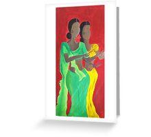 Mulatas Greeting Card